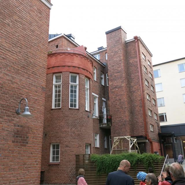 Asuinkäyttöön muutettu entinen synnytyslaitos. Kuva: Henrik Mattjus, Pirkanmaan maakuntamuseo.